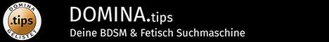Homepage von Domina.tips